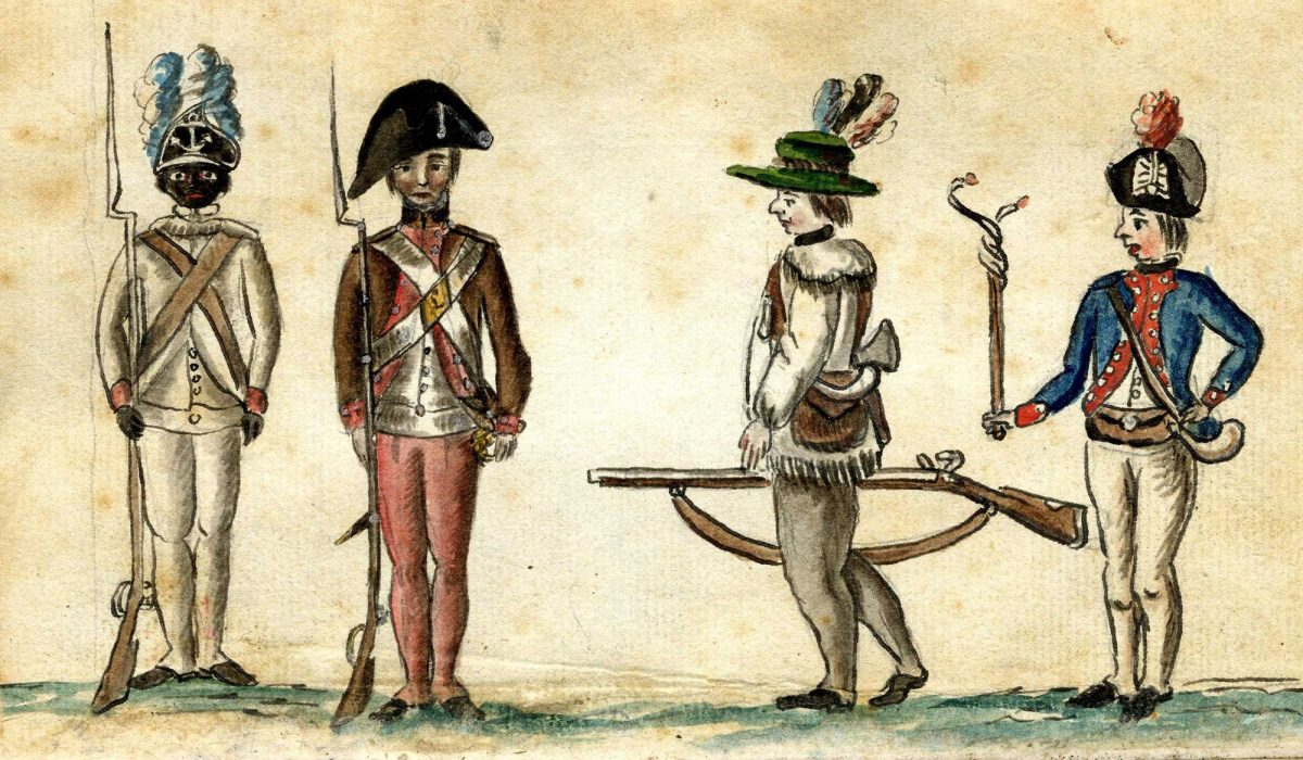 Continental Army Soldiers