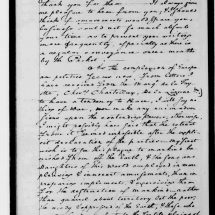 Letter from George Washington to David Humphreys (July 25