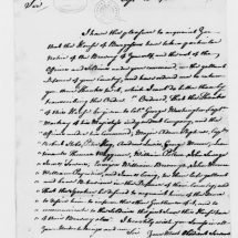 Letter from John Robinson to George Washington (September 15