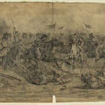 Cavalry Charge at Brandy Station