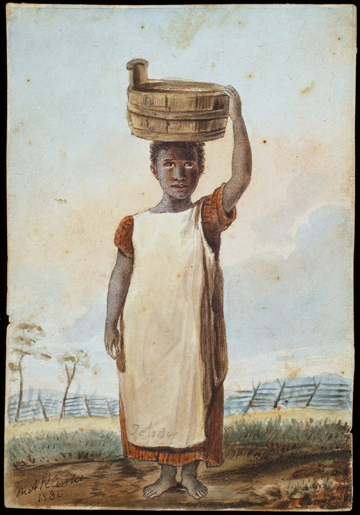 Enslaved Girl