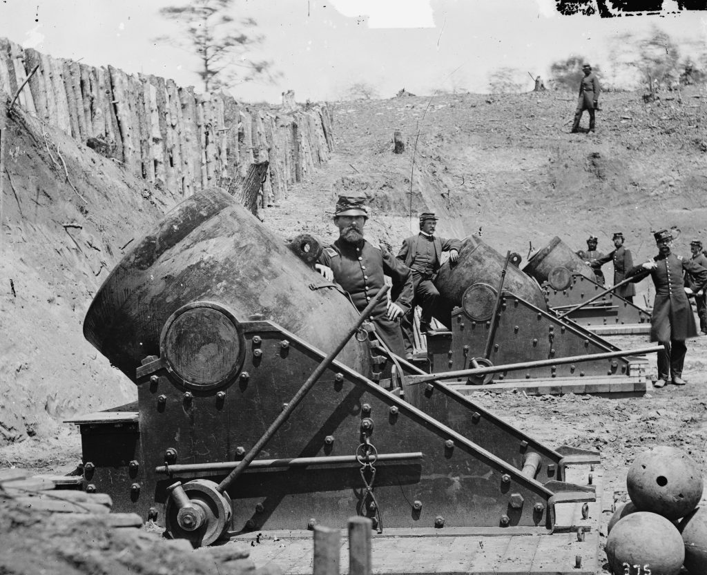 Union Battery No. 4 Near Yorktown