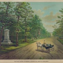 The Place Where Stonewall Jackson Fell