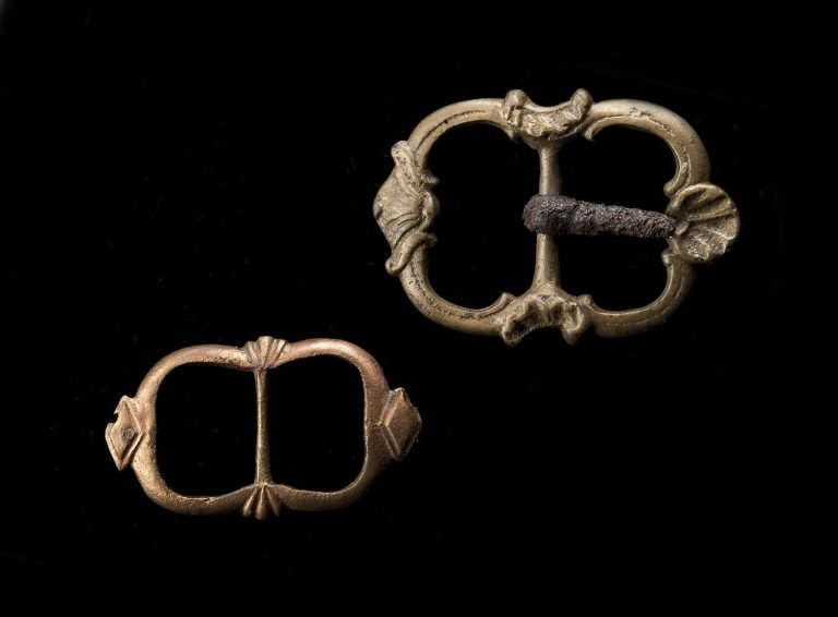 Buckles Excavated from Mount Vernon Slave Quarters