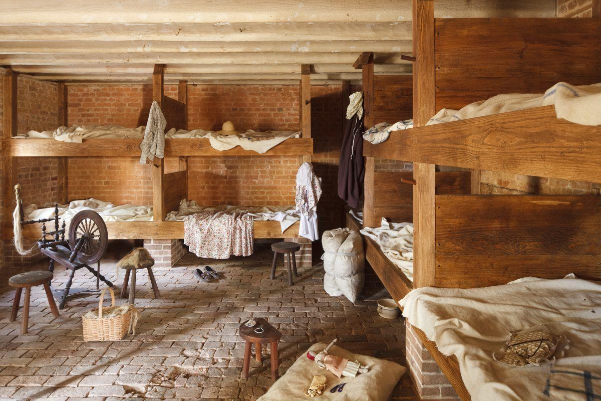 Slave Quarters Re-creation