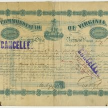 Bond Issued After the Funding Act of 1871
