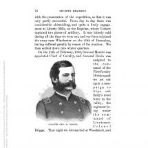 An Historical Sketch of the Seventh Regiment Michigan Volunteer Cavalry