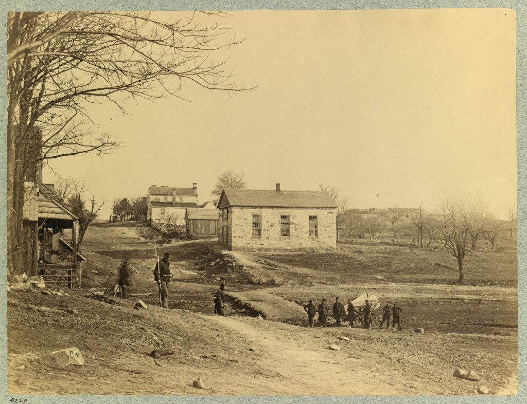 Union Soldiers in Centreville