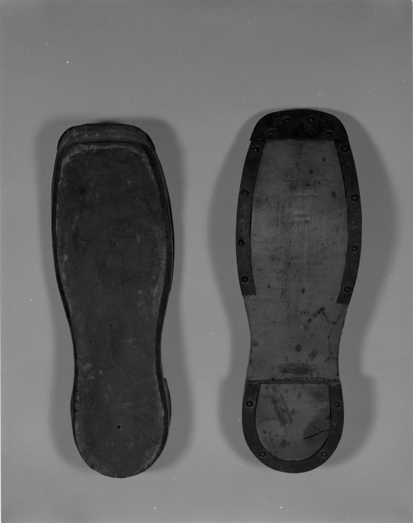 Shoe Soles Made by Slaves