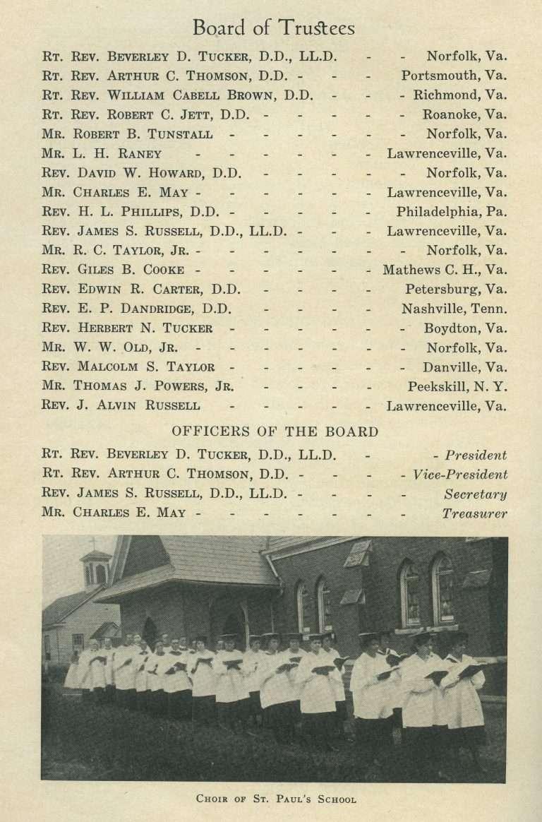 Choir of St. Paul's School