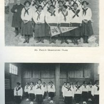 St. Paul's Graduating Class and Physical Training