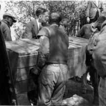Carrying the Remains of Thomas Roderick Dew