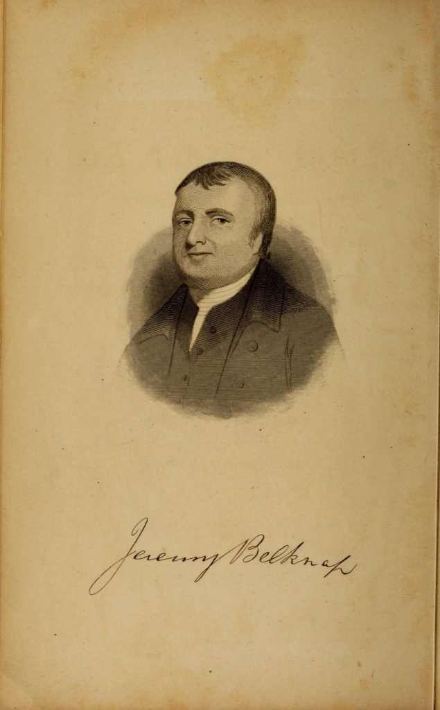 Jeremy Belknap Portrait