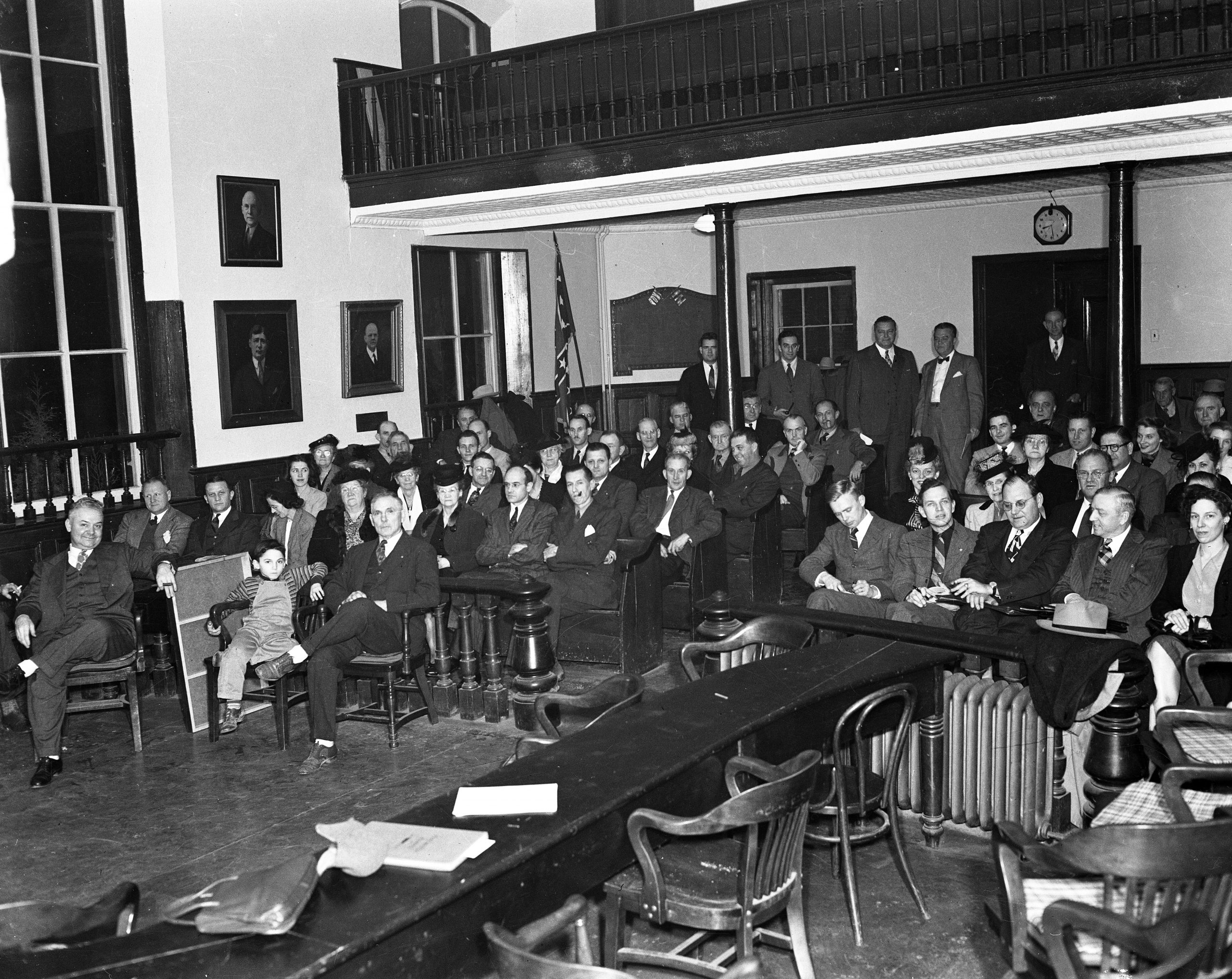 Republican Meeting at Fairfax Courthouse