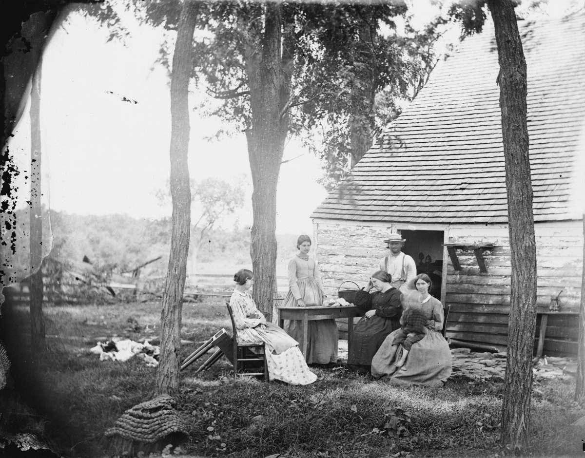 Virginia Civilians After the Battle of Cedar Mountain