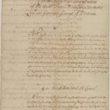 Petition Against Virginia Governor Francis Nicholson